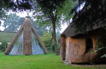Sauna og drivhus