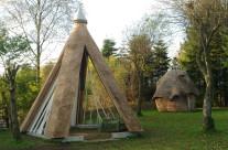 Drivhus og sauna