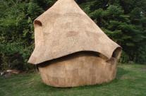 Næsten færdig sauna