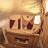 Indenfor sauna – taget med vidvinkel